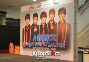 A-PRINCE Gives Royal Treatment To Malaysian Fans - Sept 1, 2013 [PHOTOS]