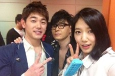 Park Shin Hye, Self-Camera with Eric Nam & Lee Seung Hwan